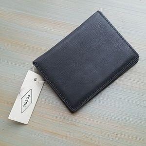 Fossil Ellis Card Case Black